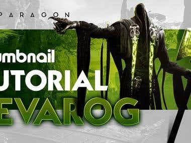 Paragon Game youtube thumbnails