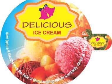 ICE CREAM BOX LID DESIGN