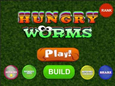 Hungry Worm Game Update