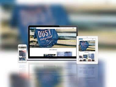 Stashwear Ecommerce Website