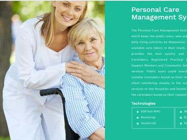 Parsonal Care Management System