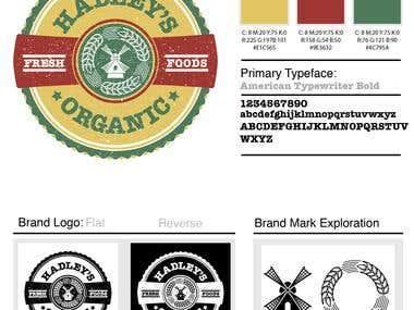 Logo Design - Local Organic Farmers Market