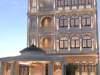 Building facades Classic 03