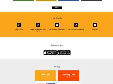 Node.js Website & Mobile App