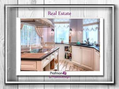 Photography and editing of real estate