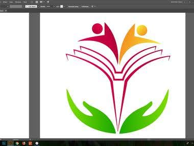 Logo For An Indian School