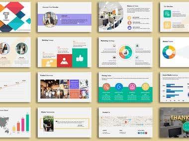 Startup company presentation