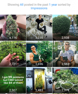 @LovingCBD– Instagram Marketing