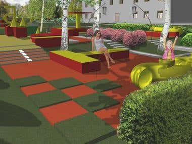 Kindergarden park