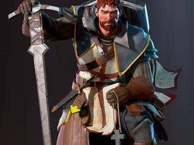 Templar - Game res character