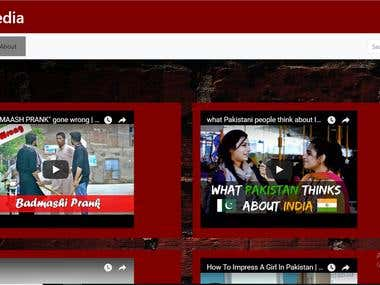 Youngistan media channel.