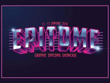 EPITOME ''graphic diploma showcase""