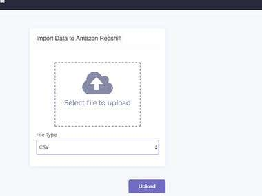 Import Data to Redshift