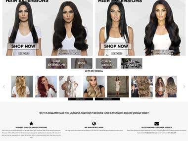 BELLAMI Hair Extensions, Clip-In Hair Extensions, Ombre