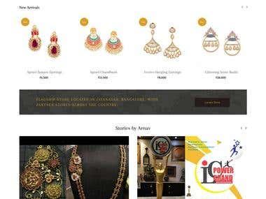 Shop handcrafted Indian jewellery online, Jayanagar Bangalor