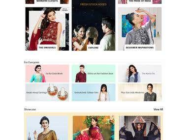 Utsav Fashion Buy Exclusive Sarees, Salwar Suits, Lehengas O