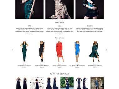Singapore Designer Dress Rentals
