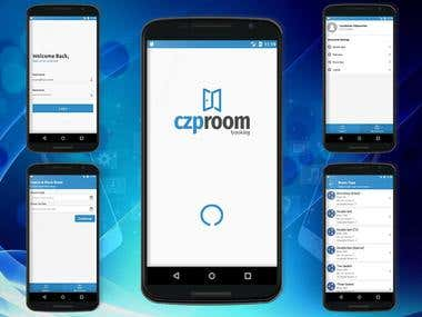 Room Booking Android Application