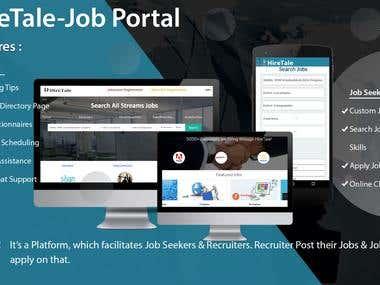 Hiretale: Job Portal Platform