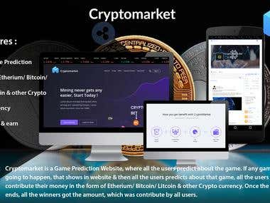 Cryptomarket: Crypto Based Game Prediction Project
