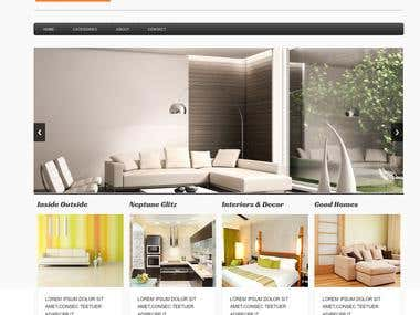 Intranet Portal for interior designer in sharepoint