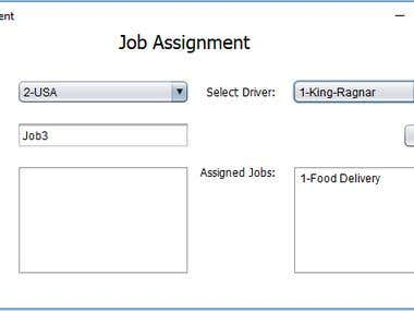 Transport Company Application