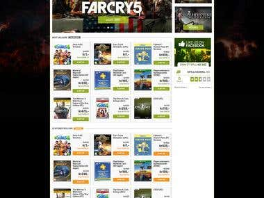 Online Game Store