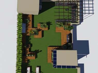Terrace Garden For Mr. Mundra,Indore India