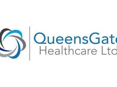 Queens Gate Healthcare Logo Design
