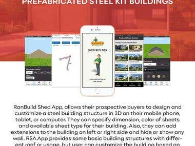 RanBuild Shed Mobile App & Website