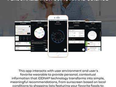 iDDNA Mobile Apps and Website