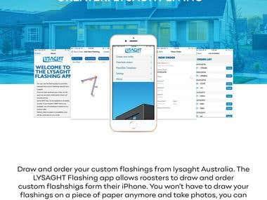 LYSAGHT Flashing app