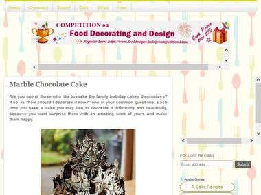 FOOD DECORATING (HOW TO) ARTICLES