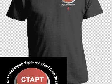 T-Shirt for bikers festival