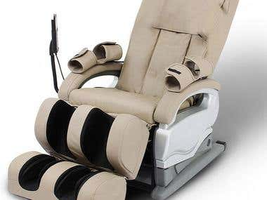 HG Economic Airbag Kneading Relaxation Chair