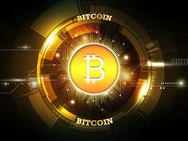 Bitcoin, Cryptocurrency, Blockchain, White Paper for ICO, Da
