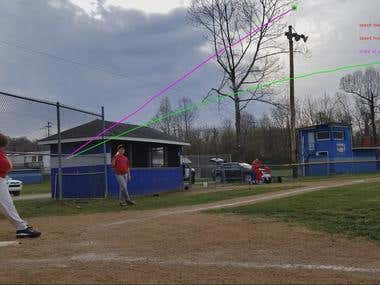 Baseball Tracking App