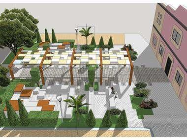Public space to concul. Paola, Malta