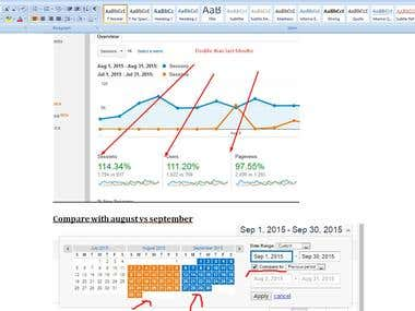 SEO Monthly Progress Reports For Client