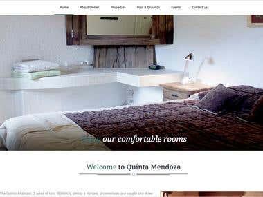 Quinta Mendoza Website - http://quintalujan.com/