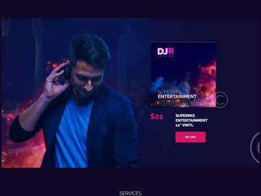 Dj website (leobozzi.com)