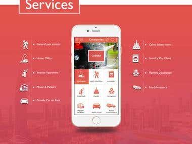 On-demand services web and app(Location based application)