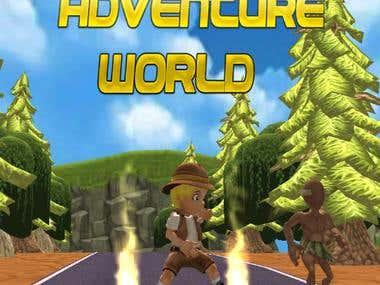 3D Runner Advanture World
