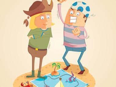 adventure of treasure hunters