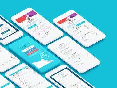 Teacher App Design + HTML (Hybrid App)