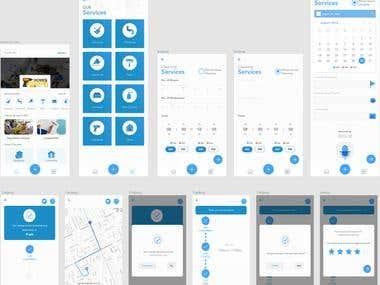Home Services ( Hybrid App )