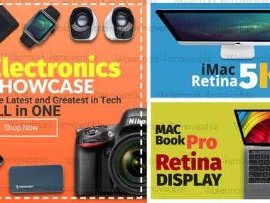 Electronics Banner