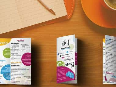 Flyer trifold