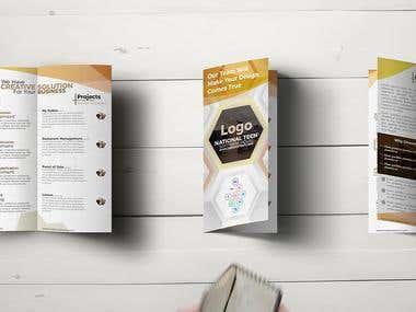 bi-fold Flyer Design