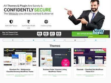 WordPress Custom Home Page